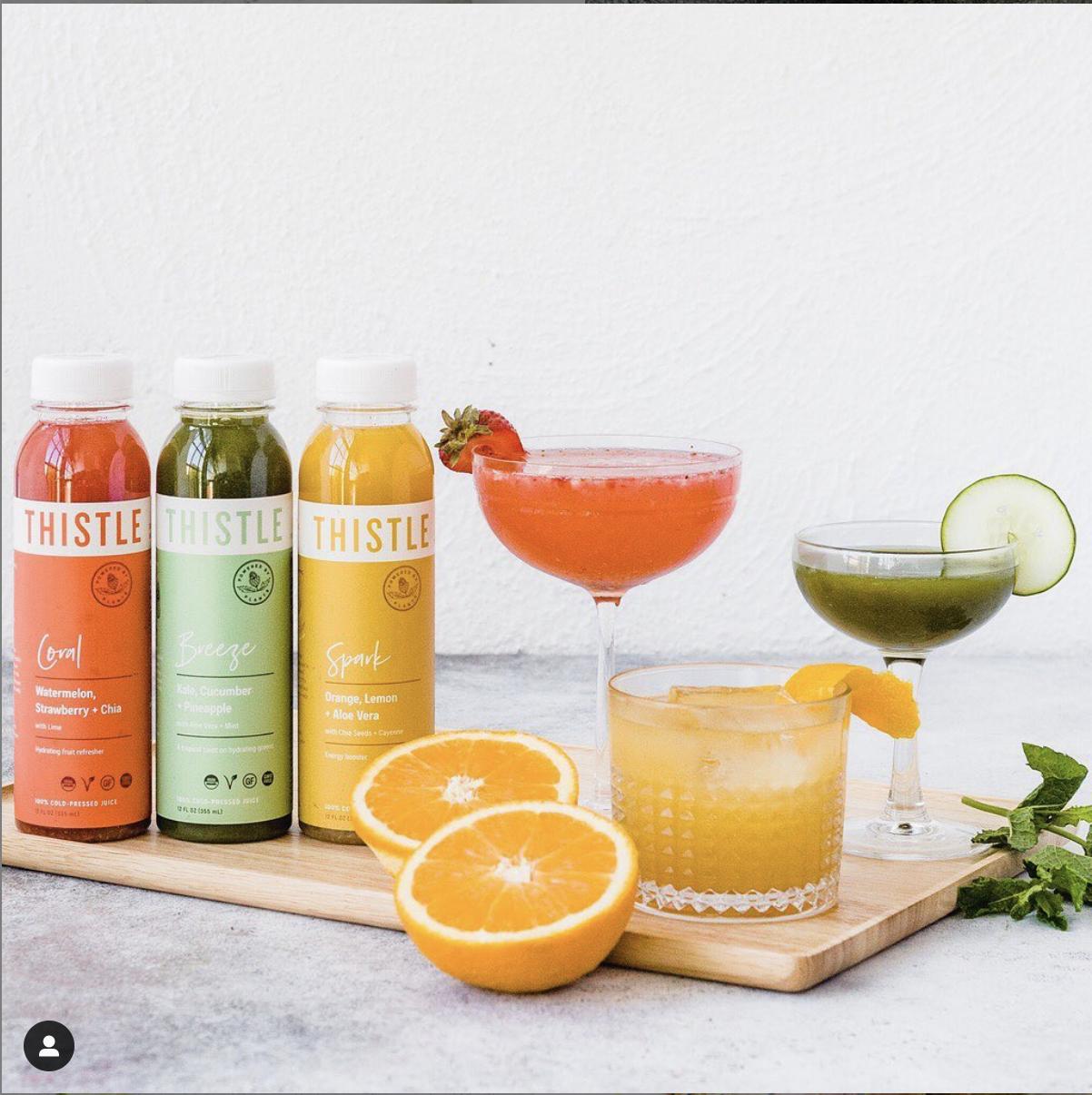 thistle cocktails