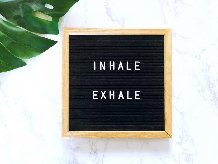 meditate, inhale, exhale