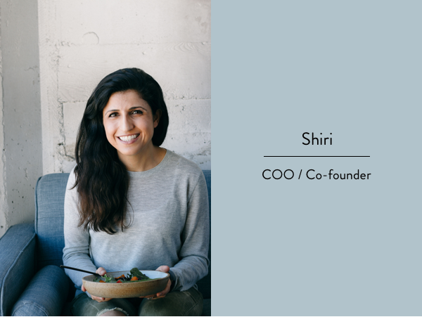 COO and co-founder of thistle Shiri Avnery