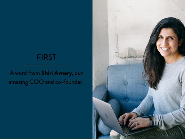 COO and co-founder Shiri Avnery