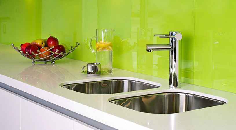 water tap in commercial kitchen