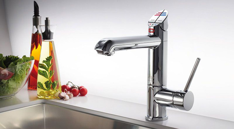 residentual hot water tap
