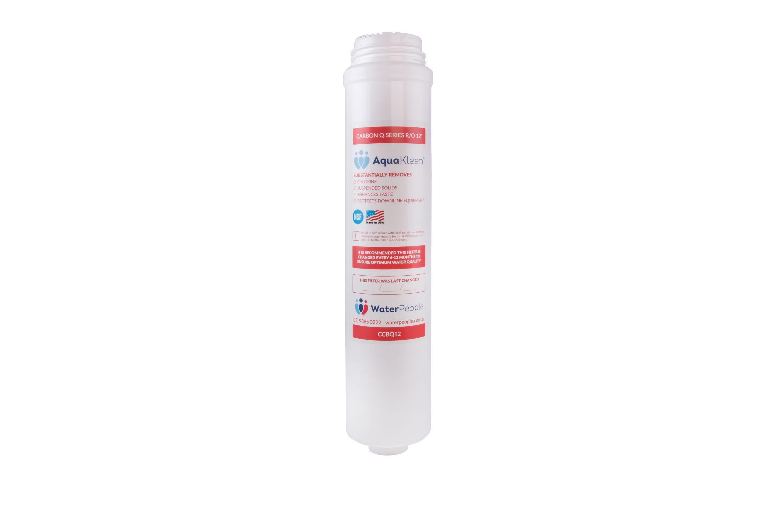 """Aquakleen Q Series Carbon Filter Cartridge 12"""""""