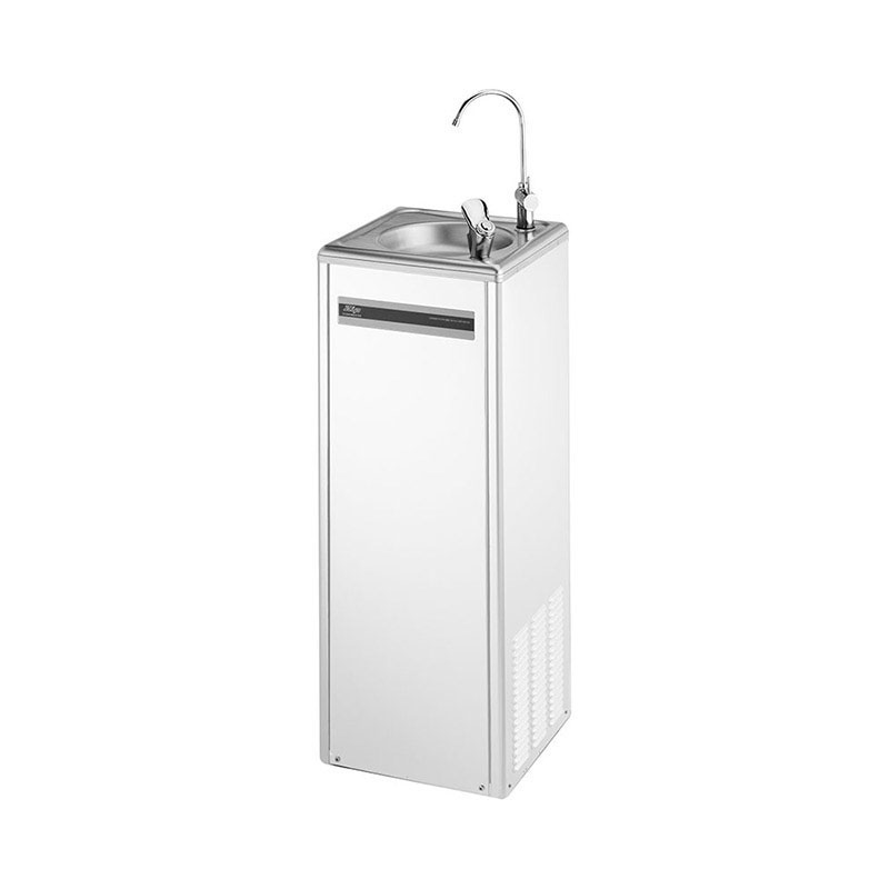 Zip EconoMaster Drinking Fountain 140 White Powder Coated Steel