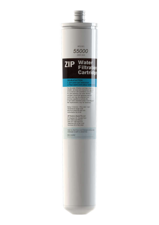 Zip 5 Micron 300mm Double Action Replacement Filter 55000