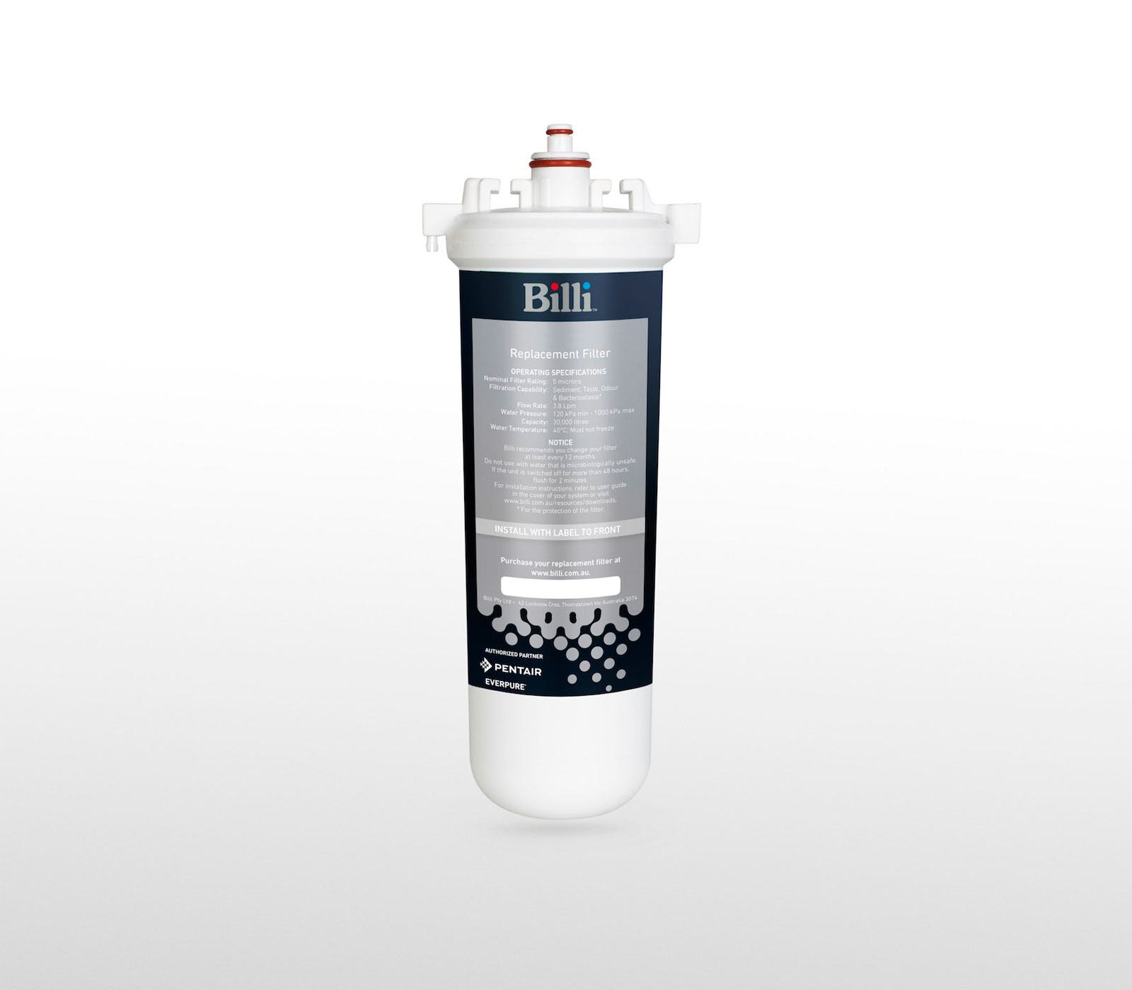 Billi 994001 5 Micron Replacement Filter Cartridge