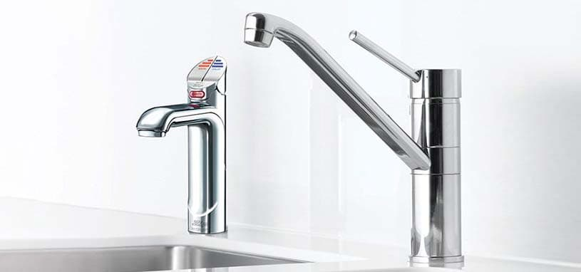 Chrome all in one water taps