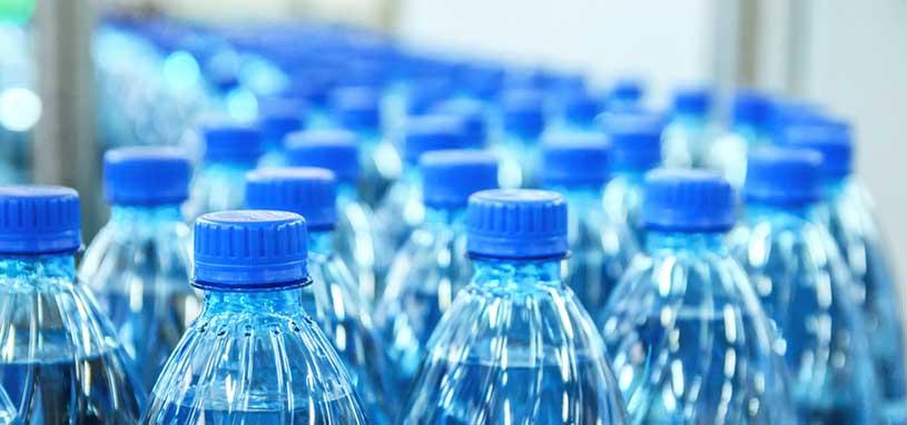 Plastic bottle wastage