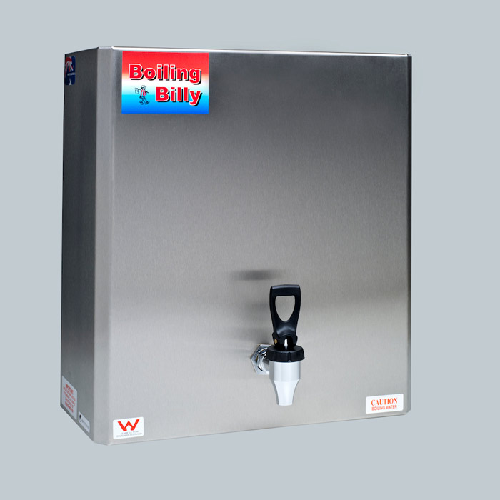 Boiling Billy Economy On Wall Boiler 2.5 Litre Stainless Steel