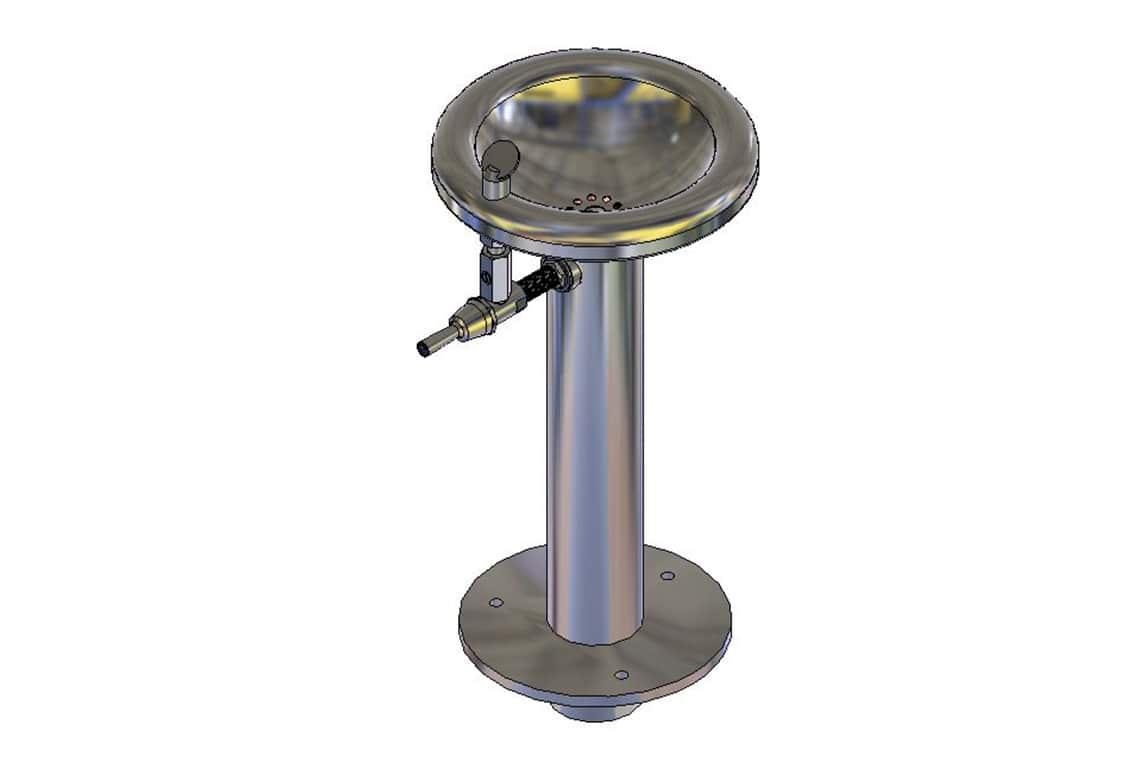 Enware Pedestal Outdoor Drinking Fountain - Junior Size