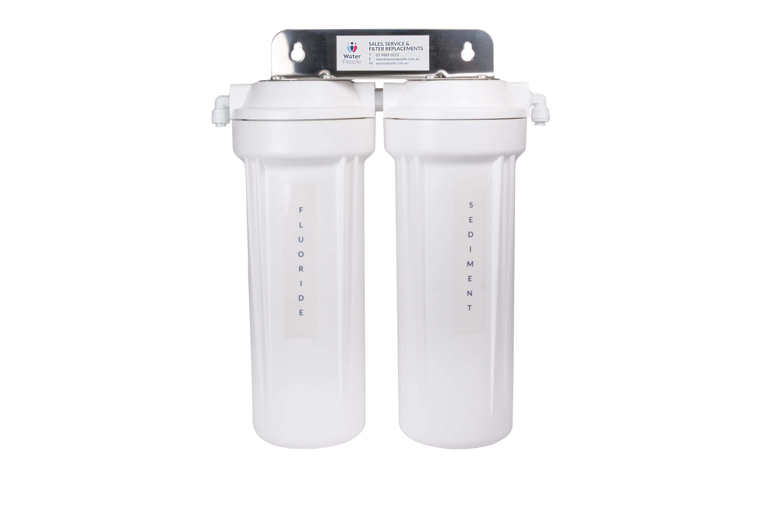 Aquakleen Twin Fluoride Pre Filter System for Zip or Billi Systems