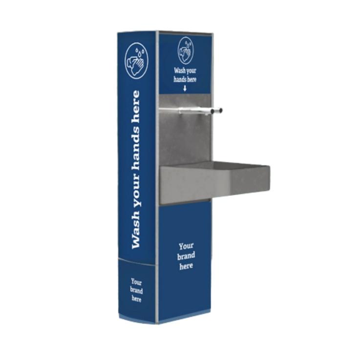 Civiq Handywash Free Standing Hand Washing Station