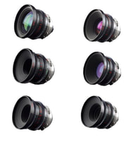 Optar Illumina Super 16 Prime Lenses