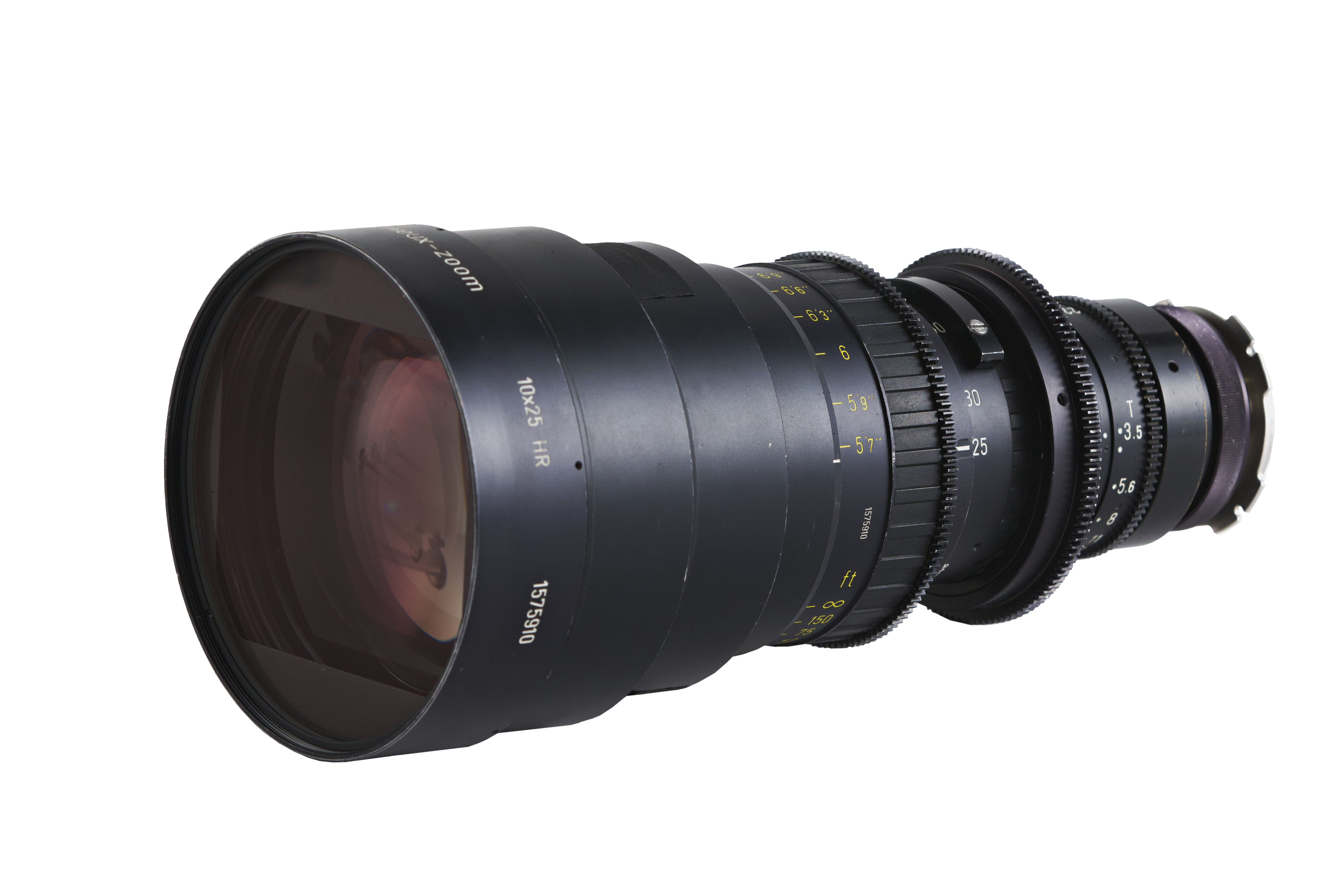 Angenieux 25-250mm HR T3.5 Zoom Lens