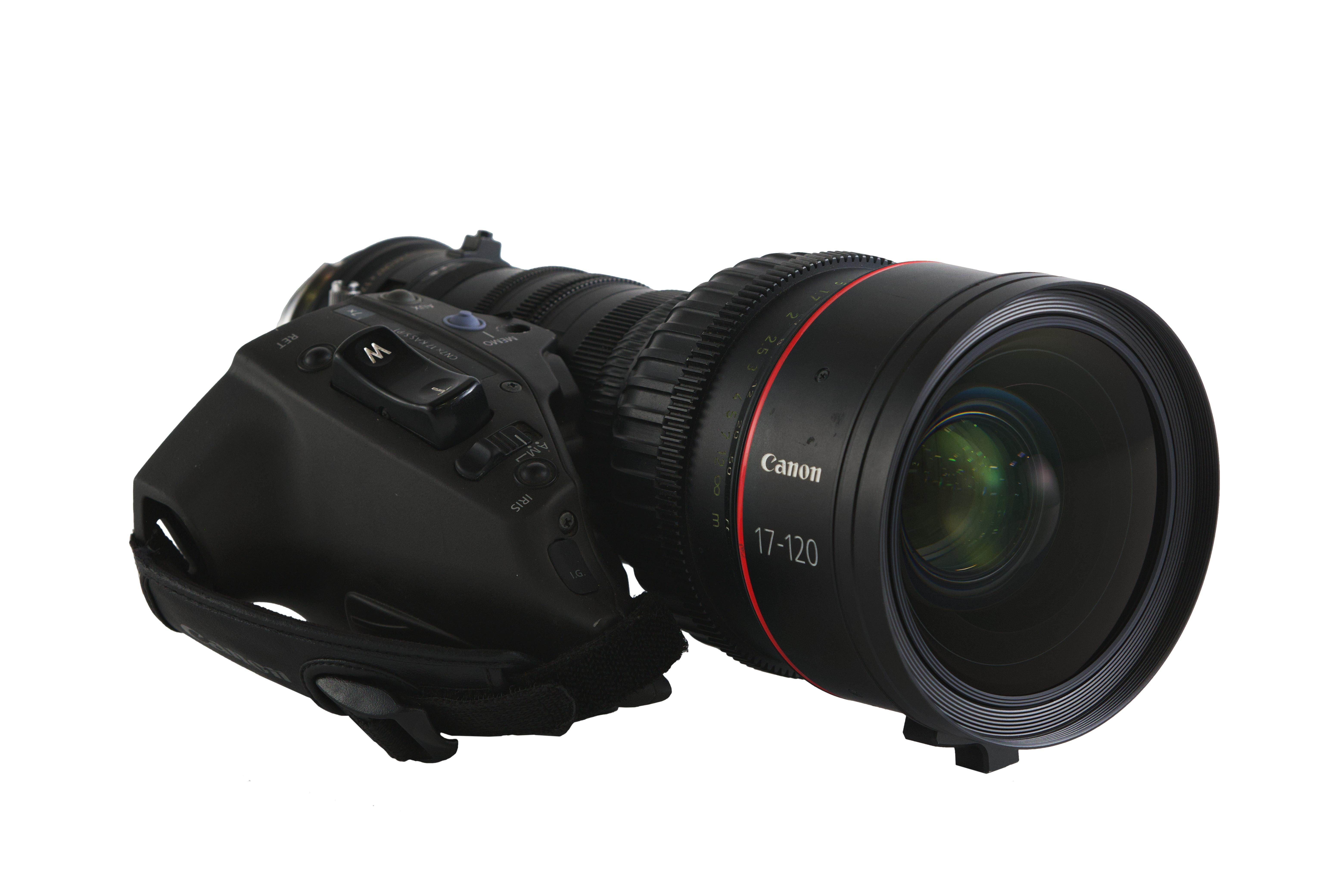 Canon 17-120mm T2.95 Cine-Servo Zoom