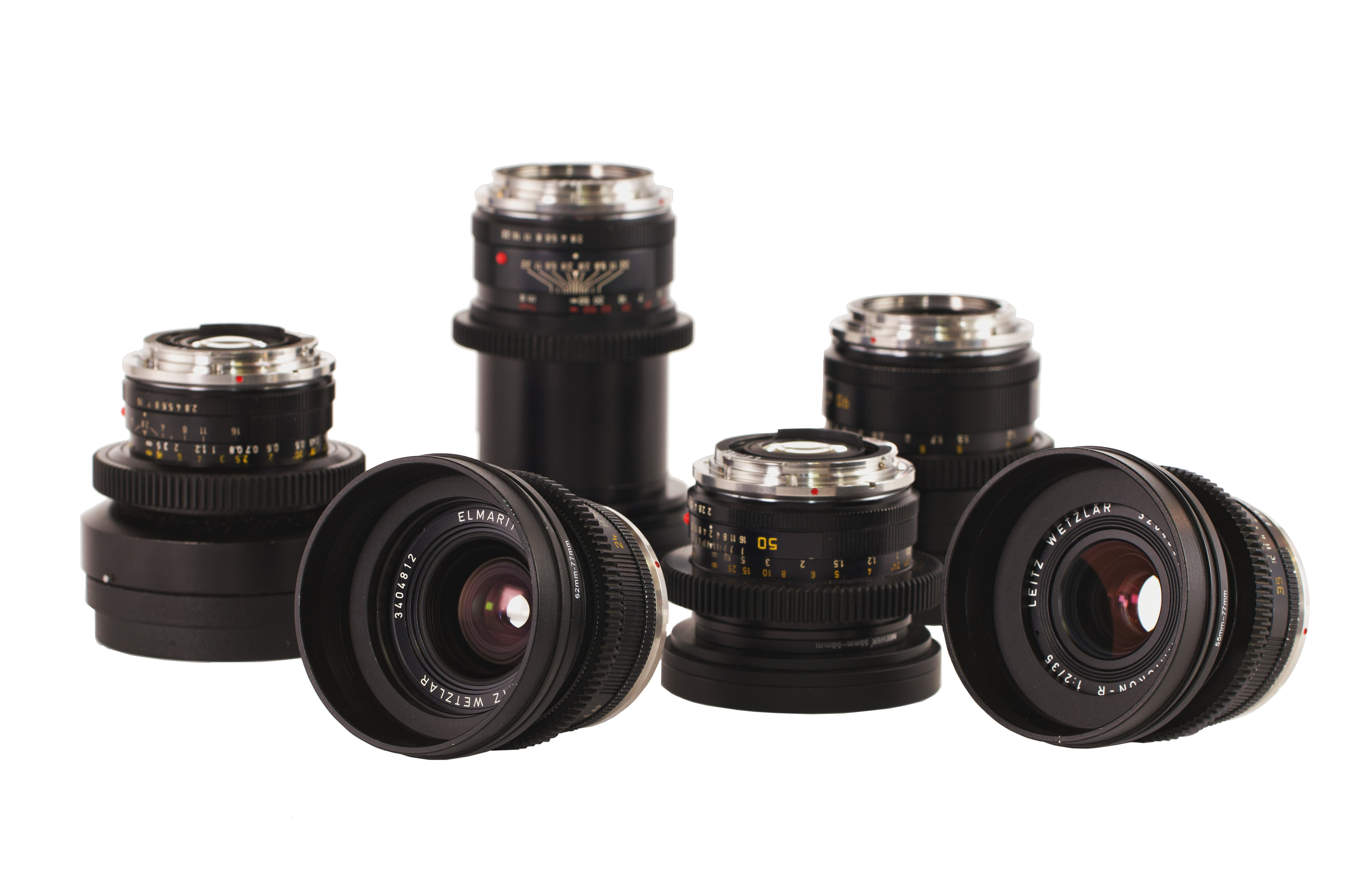 Leica R Cine-Mod Primes