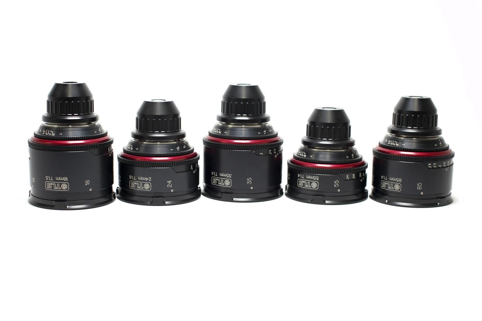 Canon K35 Primes TLS Rehoused