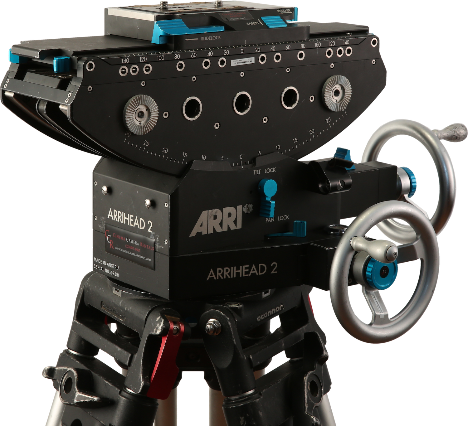 ARRIHead 2 Geared Head