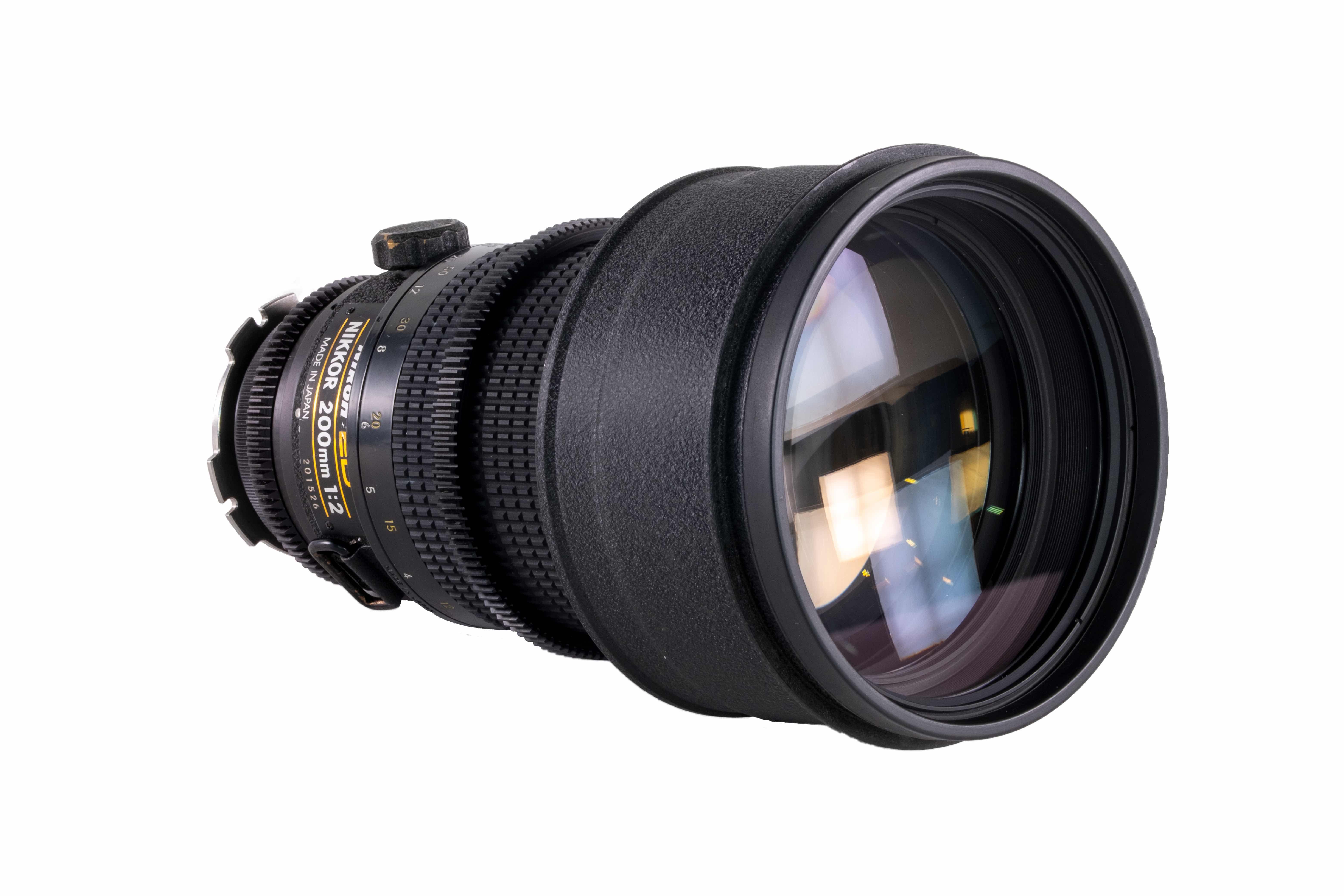 Nikkor ED 200mm T/2.0 Prime