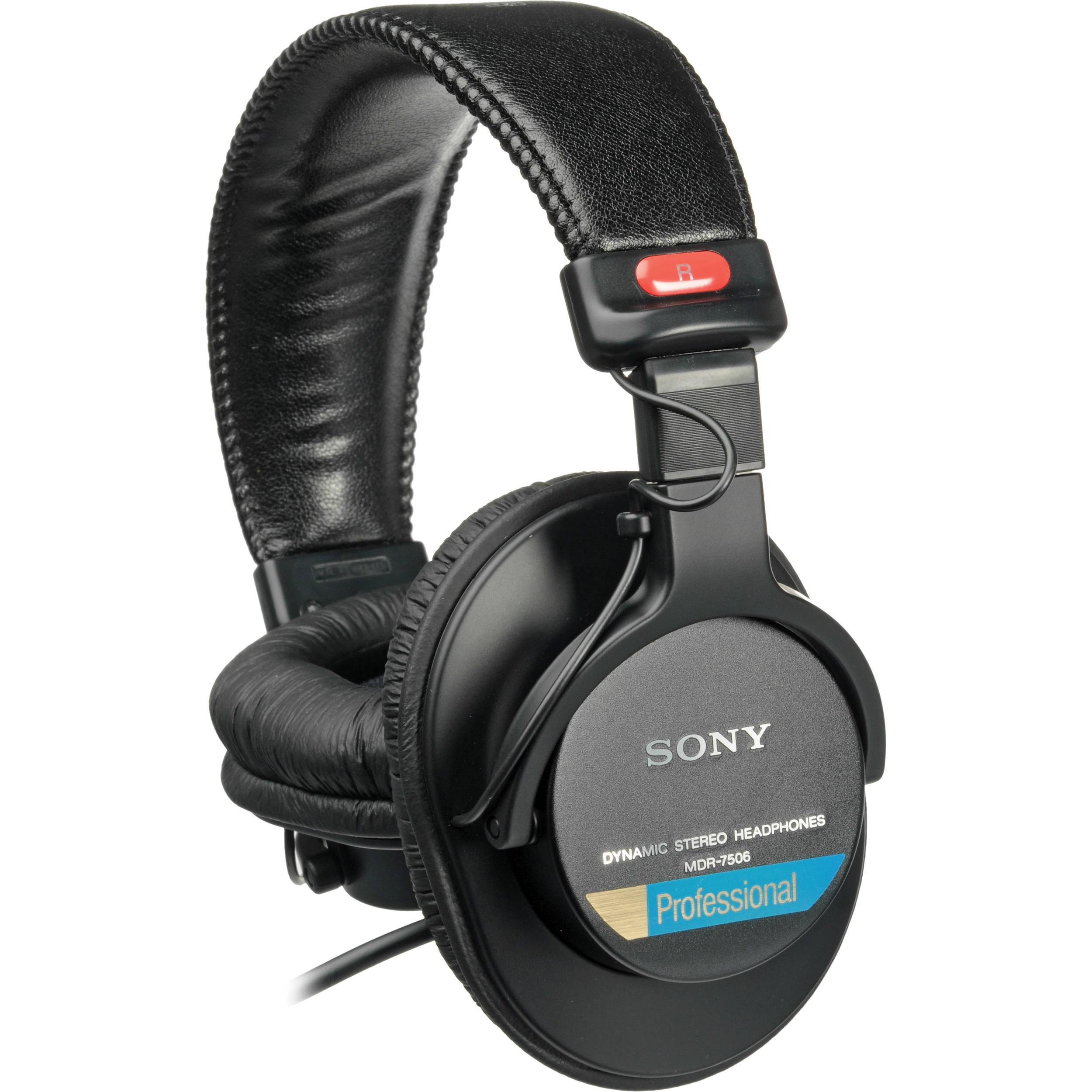 Sony MDR-7506 Dynamic Stereo Headphones