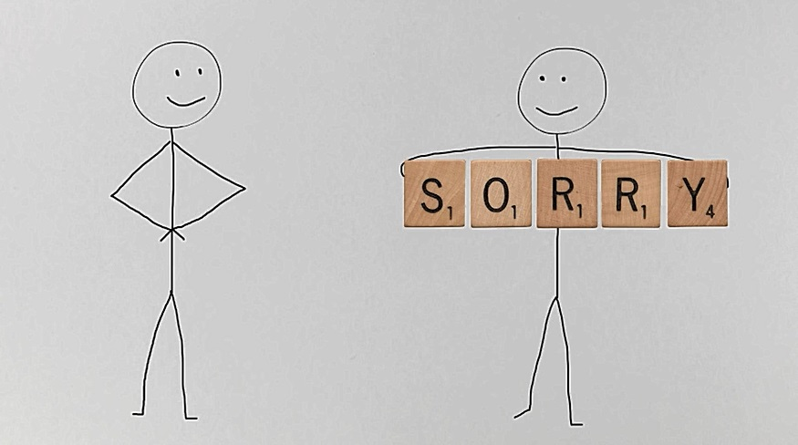 March 2016: How to say sorry