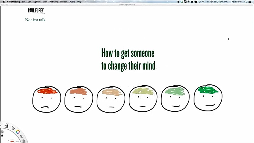 October 2014: How to get someone to change their mind