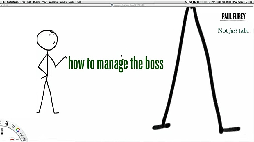 February 2015: Managing the boss