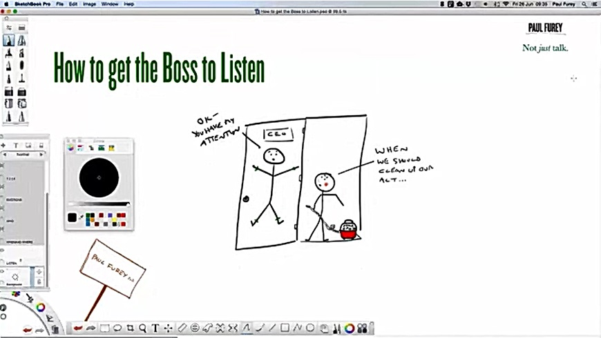 June 2015: How to get the boss to listen