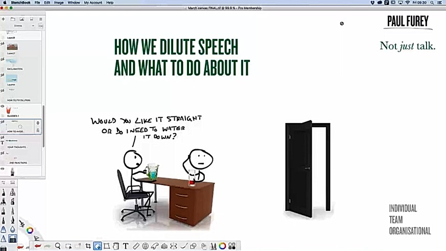 March 2016: How we dilute speech... and what to do about it