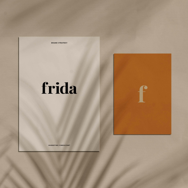 Frida logo design