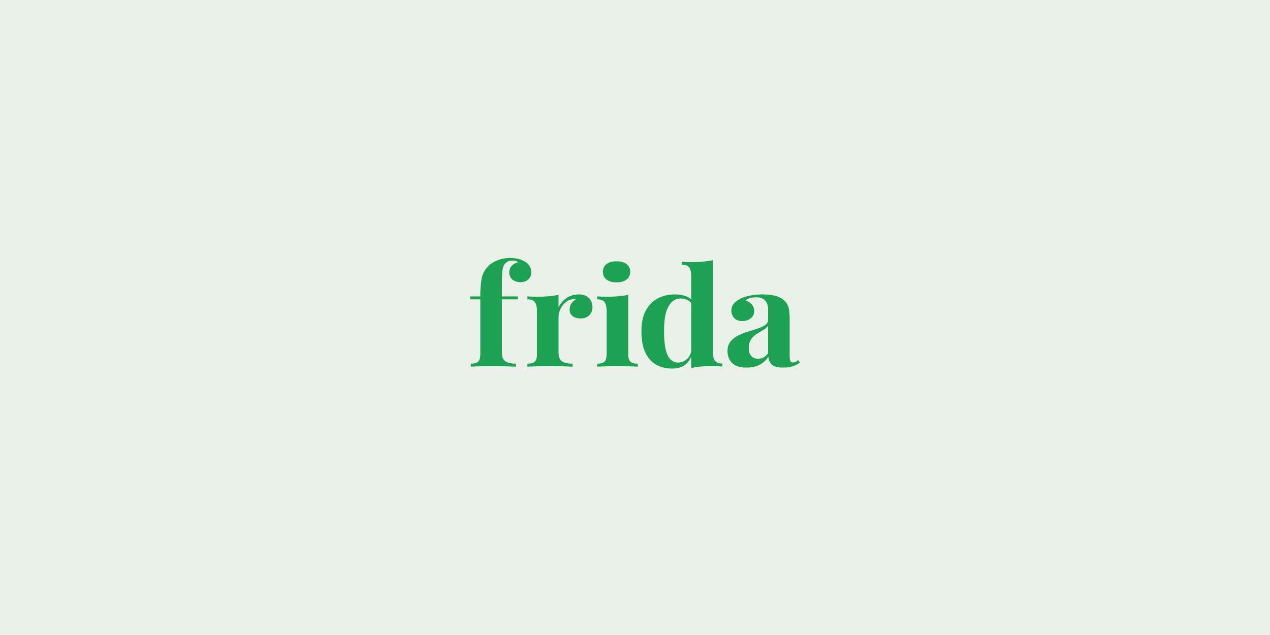 frida logo mark