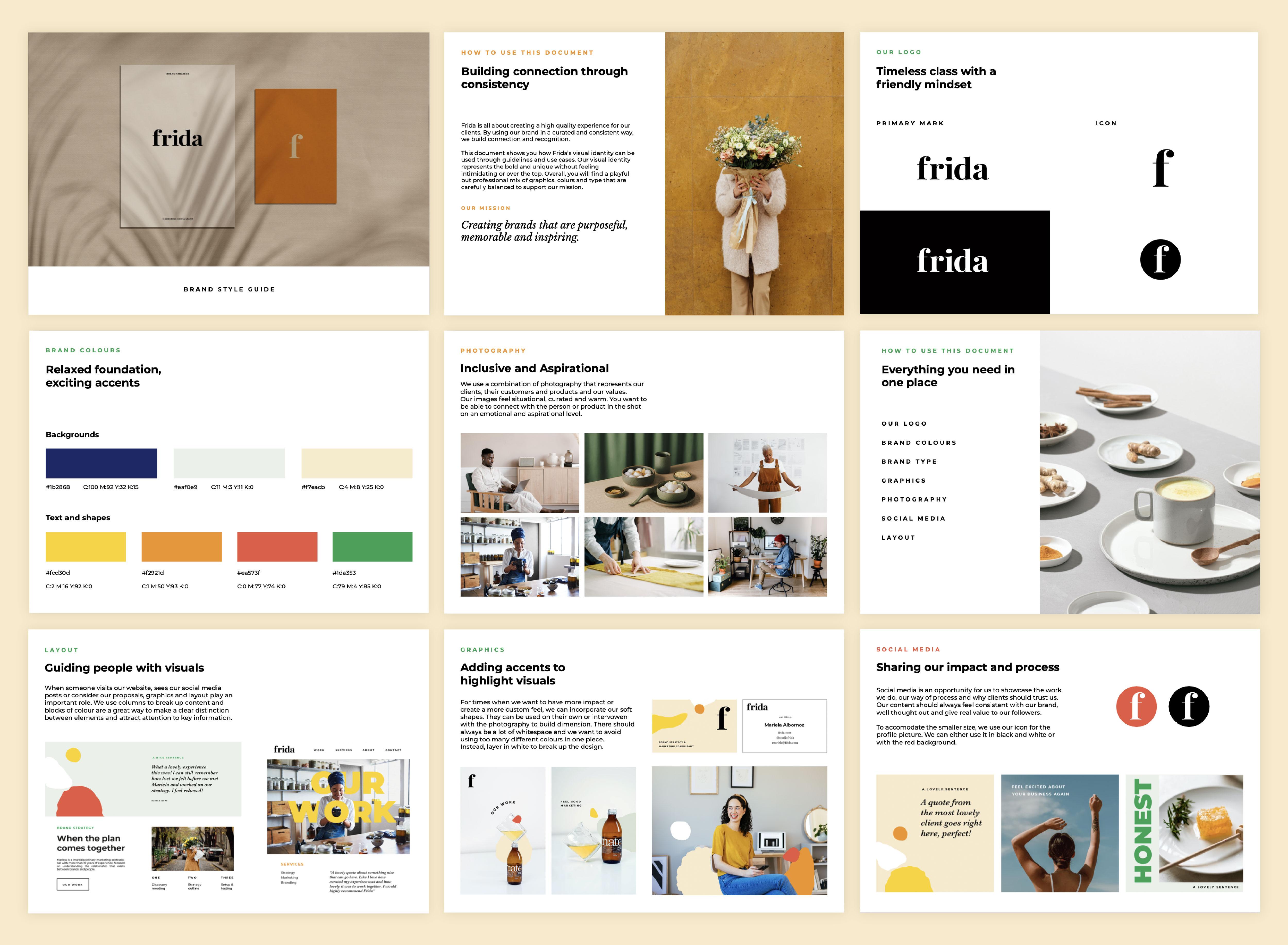 frida brand guidelines