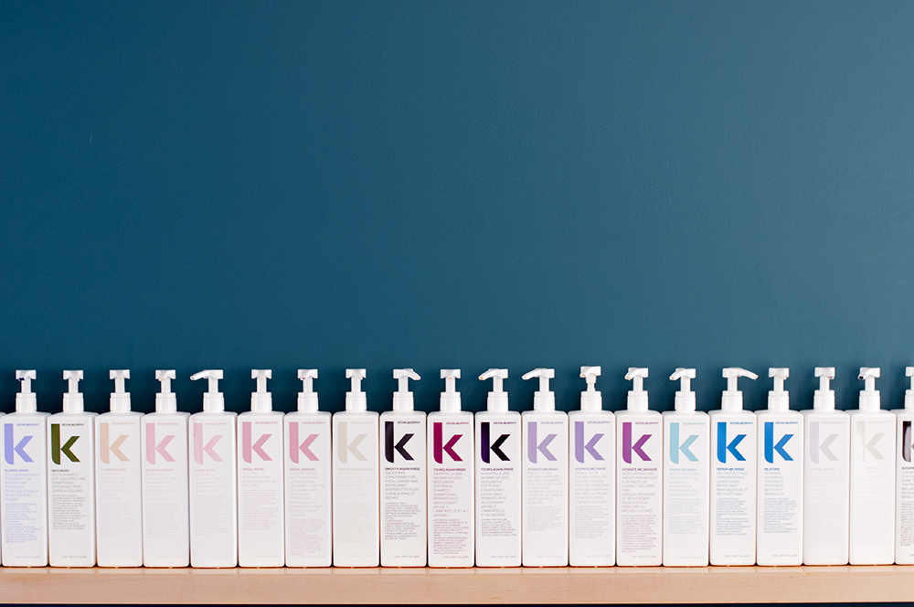 A line of Kevin Murphy products in the CRAFT salon.