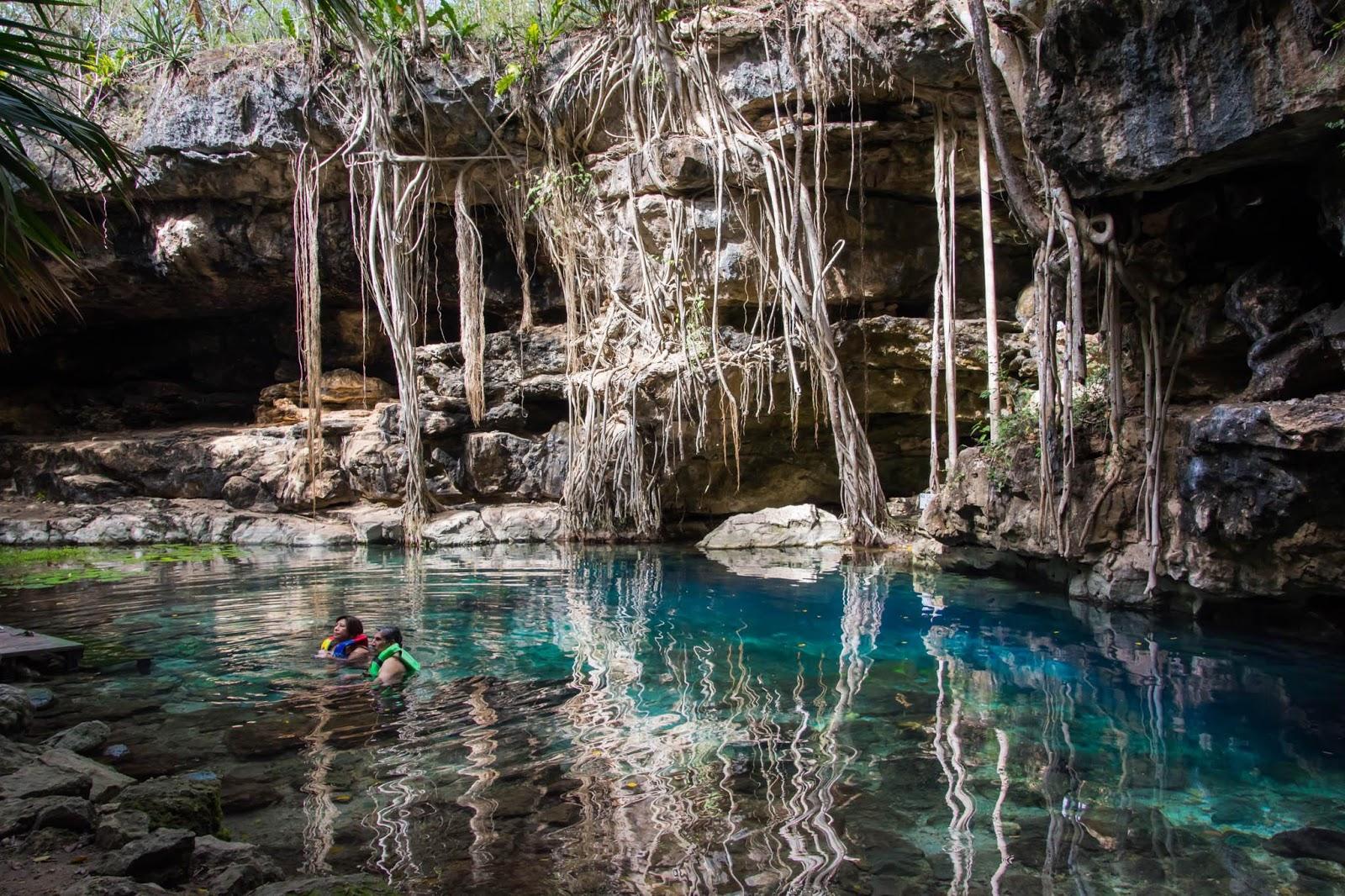 Cenote de Mérida.