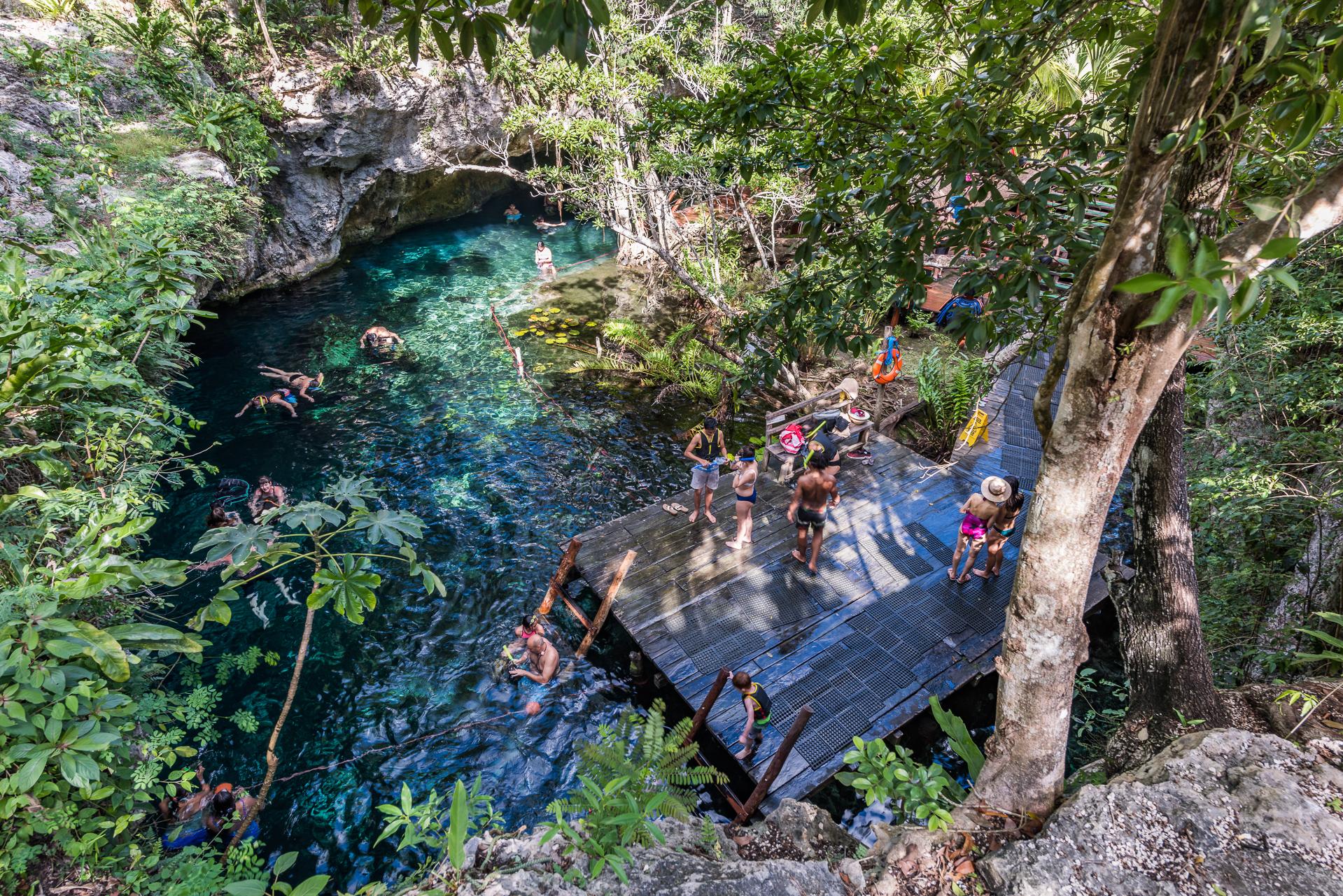 ¿Qué cenotes visitar en Tulum?