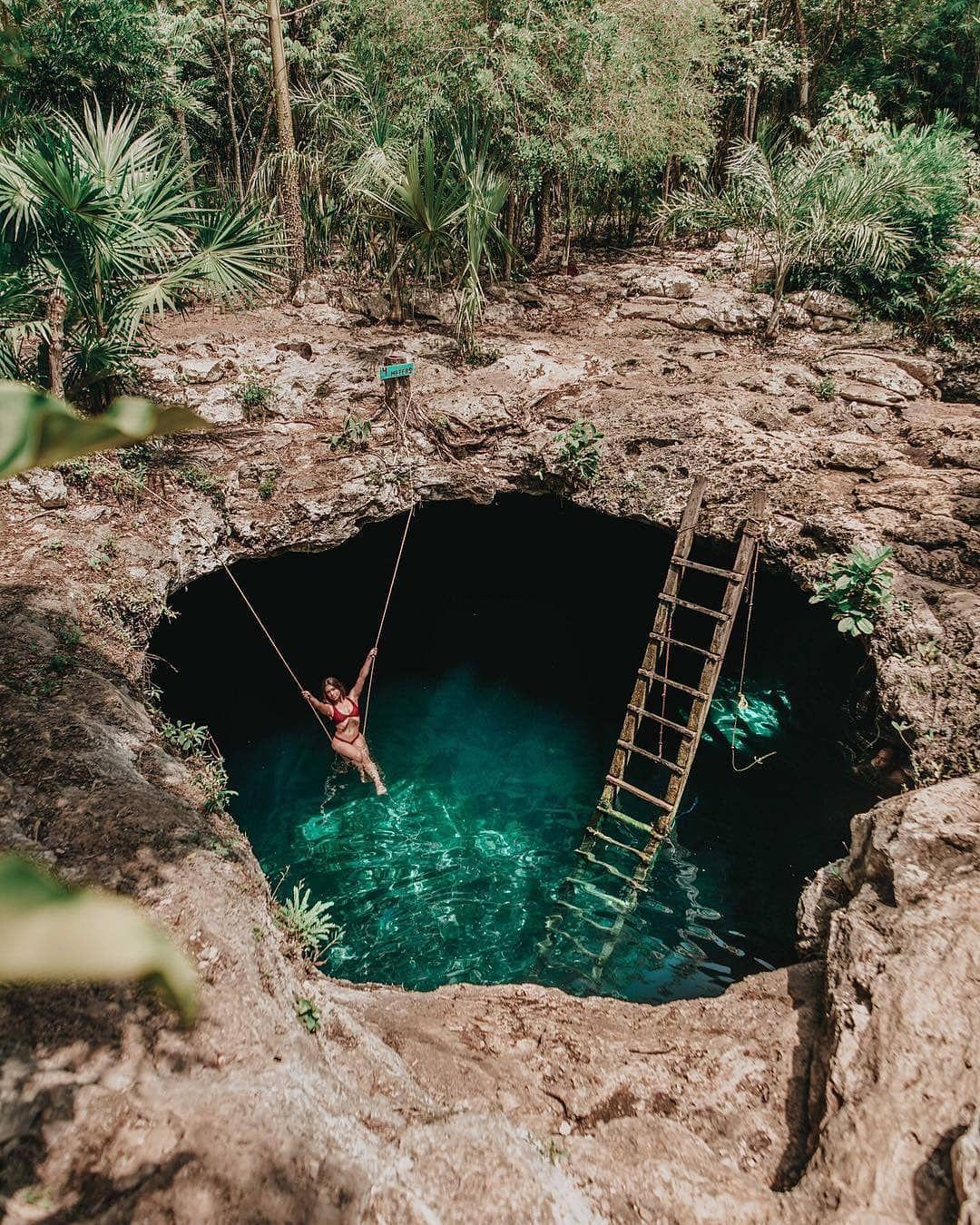 Resultado de imagen para cenote calavera