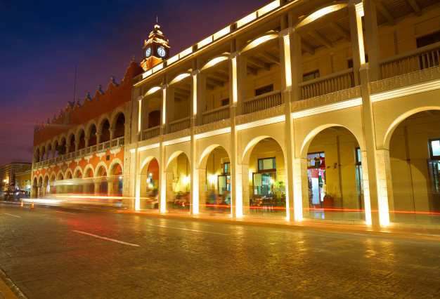The Historic Downtown of Merida is one of the main tourist attractions.