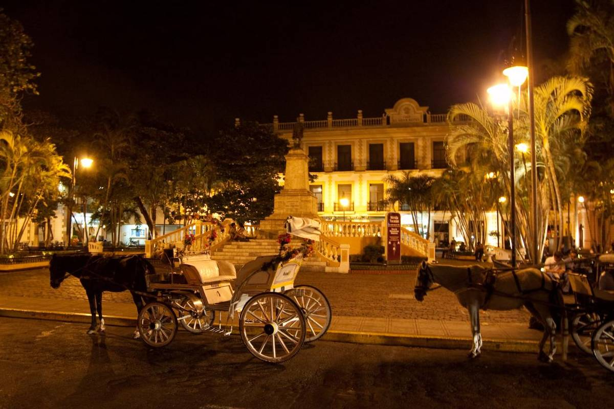 In Merida's Historic Downtown you will find many activities for tourists
