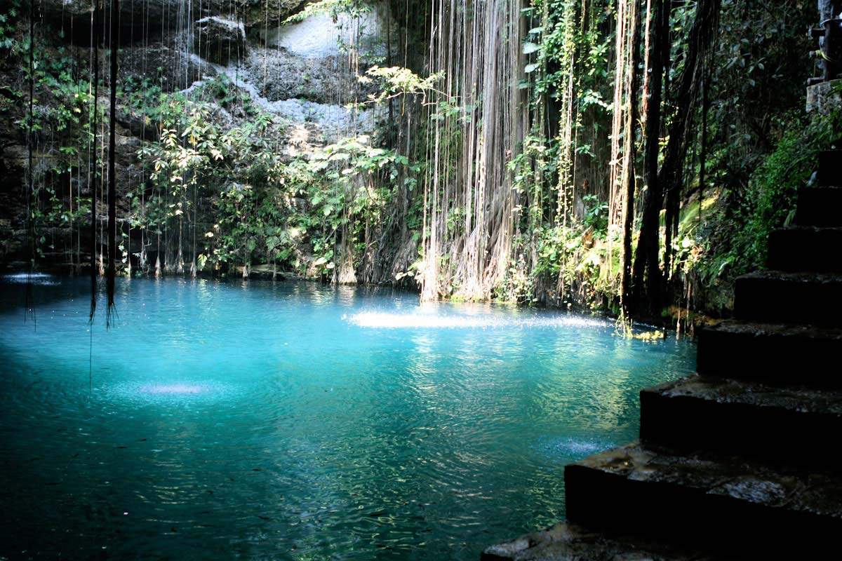 Cenotes in Cuzama are popular among tourists who want to see these unique natural wonders.