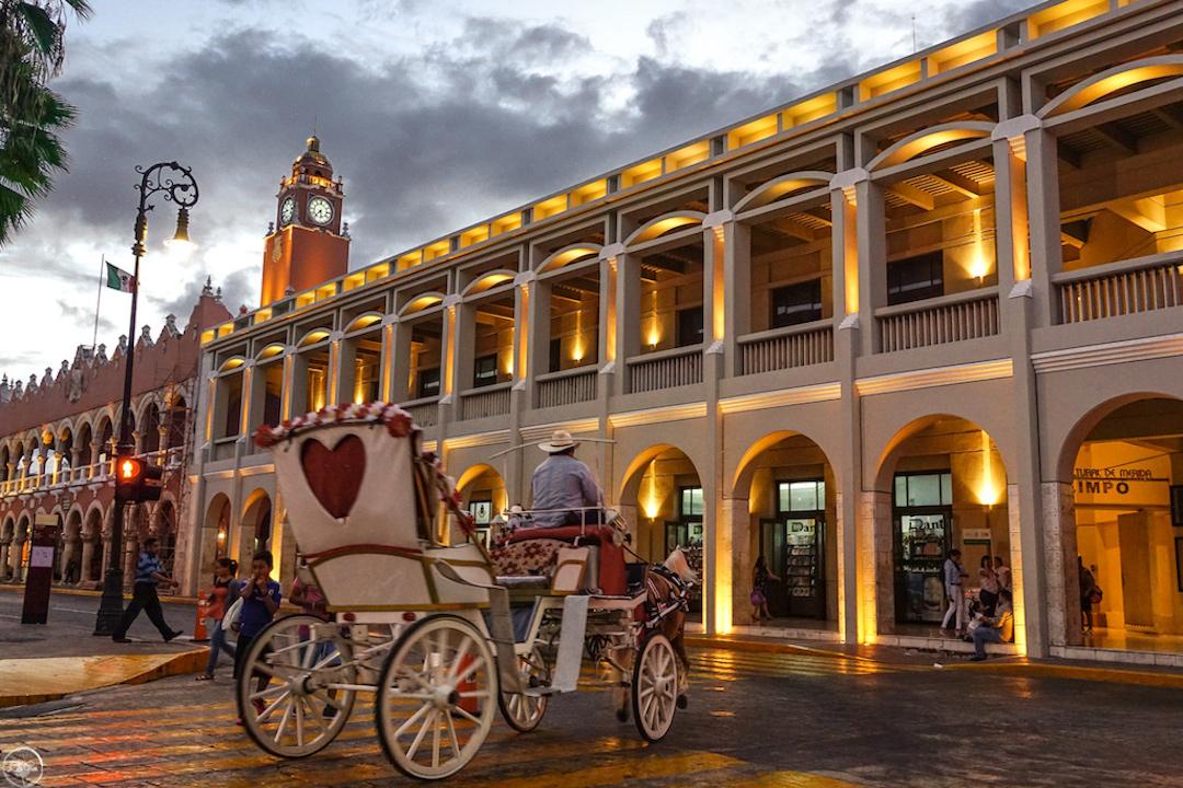 En el Centro Histórico de Mérida, Yucatán podemos encontrar diversas actividades durante todo el año.