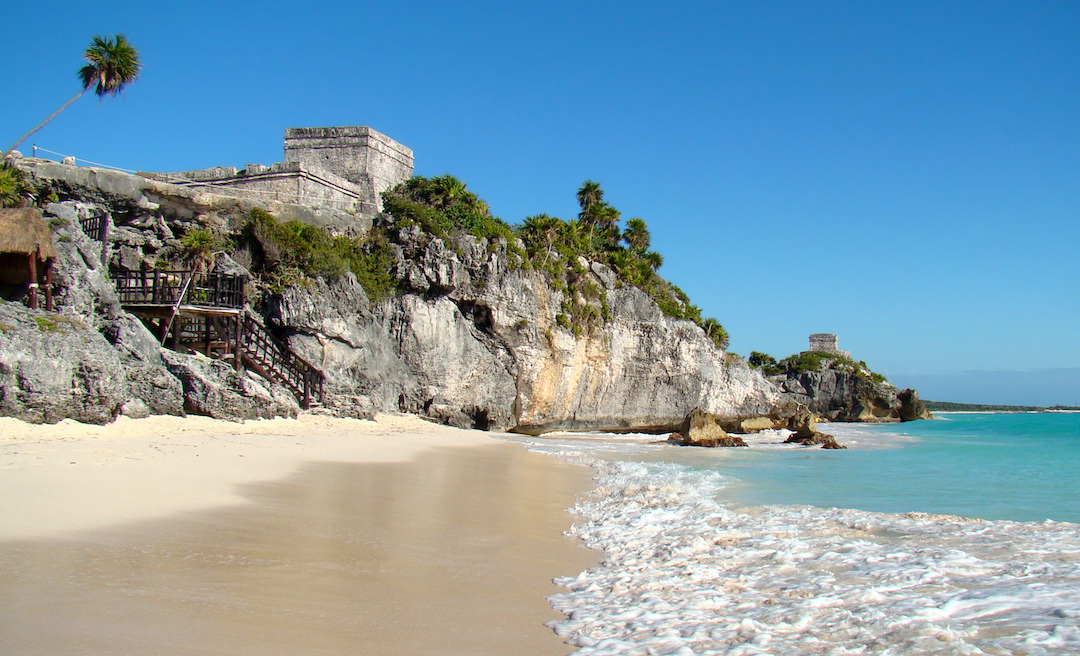 The archaeological site of Tulum