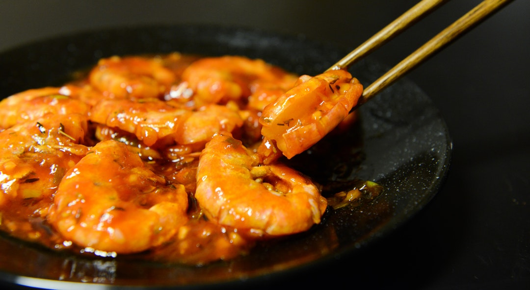 Shrimps.
