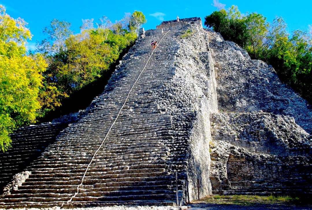 The archaeological site of Coba.