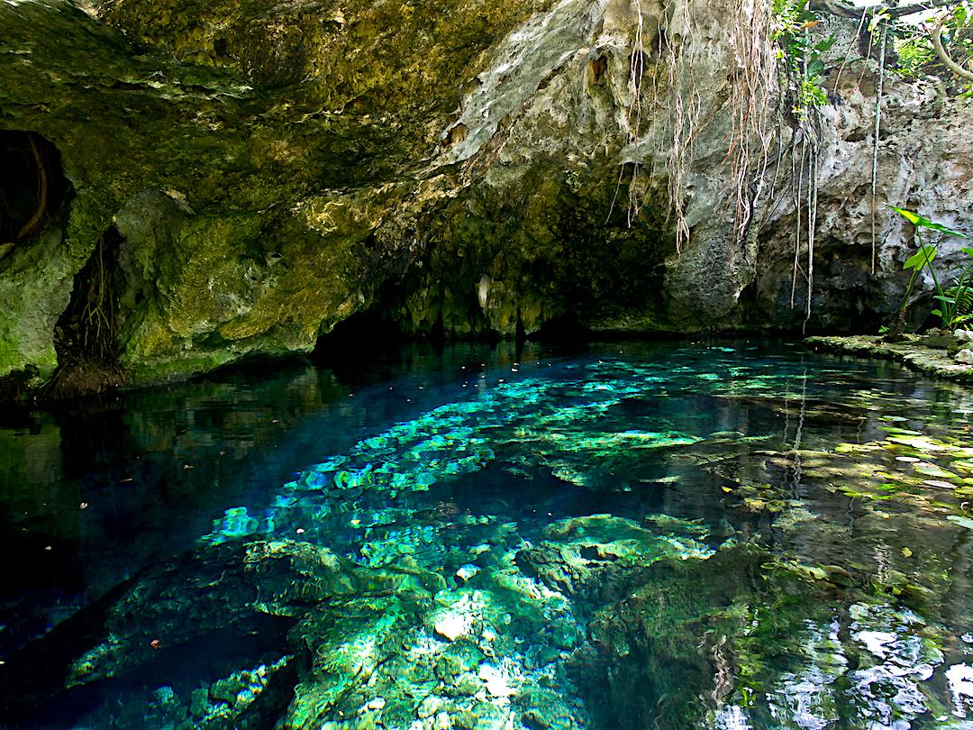 El Gran Cenote de Tulum.