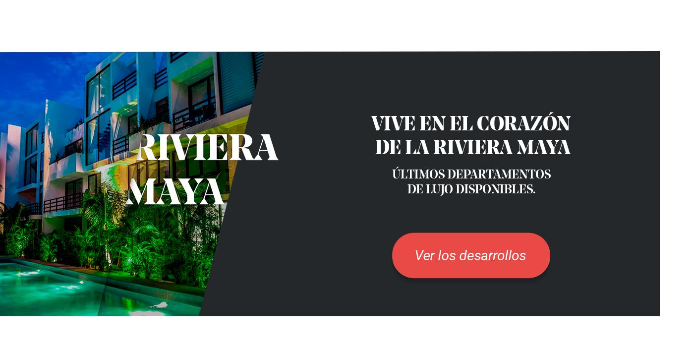 Banner de los desarrollos de Anah en la Riviera Maya.