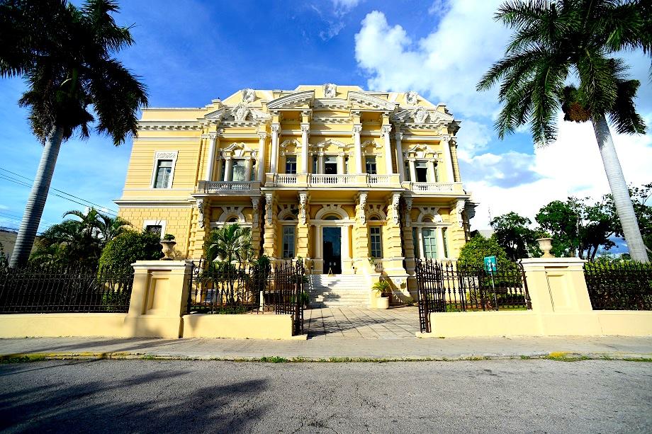 Palacio Cantón en Mérida, Yucatán.