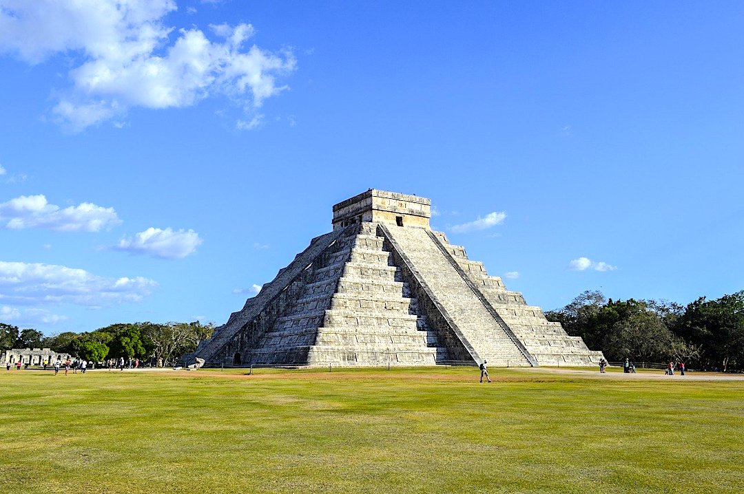The archaeological site of Chichen Itza.