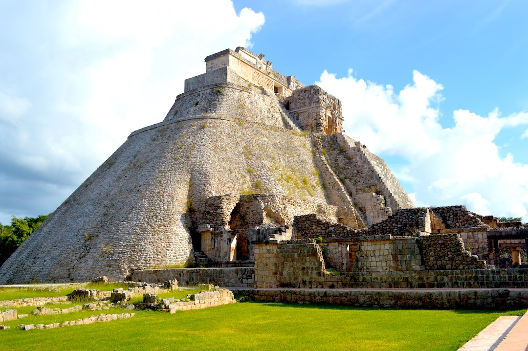 The archaeological site of Uxmal.
