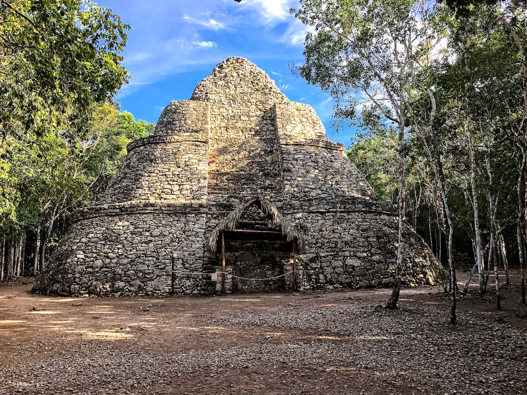 The archaeological site of Coba