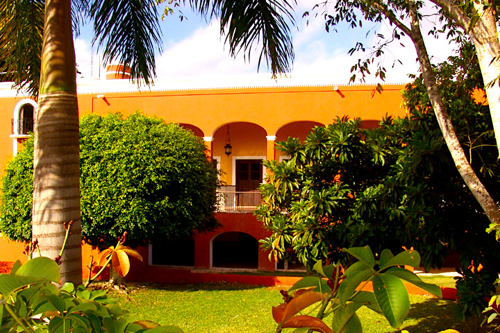 The Hacienda Sotuta de Peón.